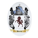 Barris Ornament (Oval)