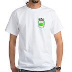 Barrios White T-Shirt