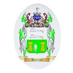 Barrios Ornament (Oval)