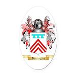 Barrington Oval Car Magnet