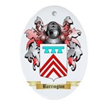 Barrington Ornament (Oval)