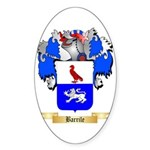 Barrile Sticker (Oval 50 pk)