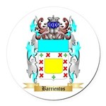 Barrientos Round Car Magnet