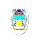 Barrientos 35x21 Oval Wall Decal