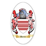 Barrie Sticker (Oval)