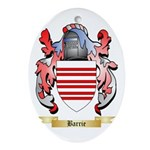 Barrie Ornament (Oval)