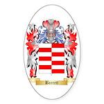 Barrett Sticker (Oval 50 pk)