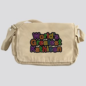 Worlds Greatest Kathleen Messenger Bag