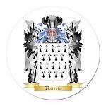 Barreto Round Car Magnet