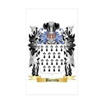 Barreto Sticker (Rectangle 50 pk)