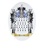 Barreto Ornament (Oval)