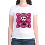 Revenge and Revolution Jr. Ringer T-Shirt in Pink