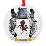 Barreta Round Ornament