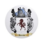 Barreta Ornament (Round)