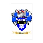 Barret Sticker (Rectangle 10 pk)