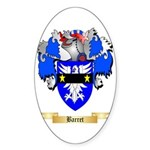 Barret Sticker (Oval 50 pk)
