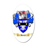Barret 20x12 Oval Wall Decal