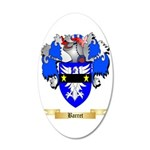 Barret 35x21 Oval Wall Decal