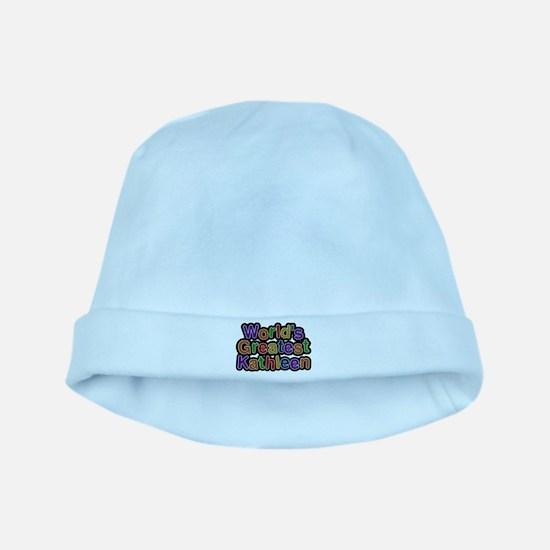 Worlds Greatest Kathleen Baby Hat