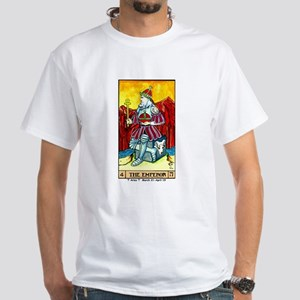 """""""The Emperor"""" White T-Shirt"""