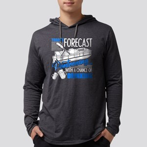 Pontoon Shirt - Today Forecast P Mens Hooded Shirt