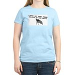 Land of the Free Women's Pink T-Shirt
