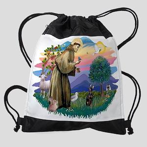 The Saint - Miniature Pinscher Drawstring Bag