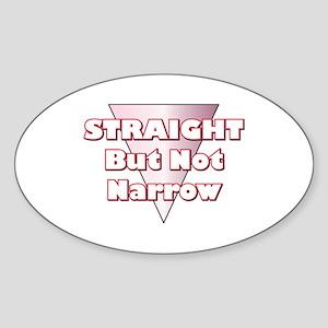 Not Narrow Oval Sticker