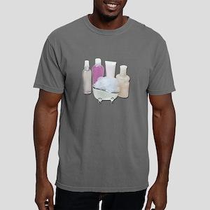 LotionCreamScrubberTub12 Mens Comfort Colors Shirt