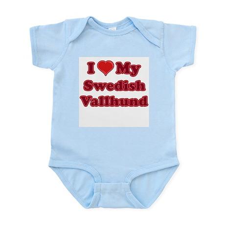 Love My Swedish Vallhund Infant Bodysuit