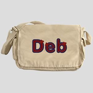 Deb Red Caps Messenger Bag