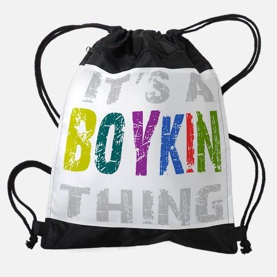 boykinthing_black.png Drawstring Bag