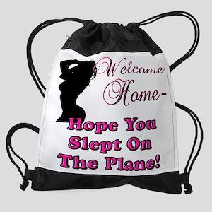 welcomehomesign Drawstring Bag