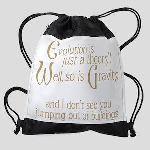 Evolutionary Theory Drawstring Bag