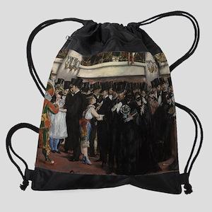 Edouard Manet - Masked Ball at the  Drawstring Bag