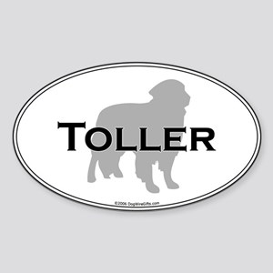 Toller Oval Sticker