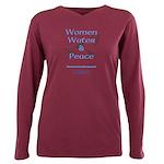 Womenwaterpeace-Bird1- Plus Size Long Sleeve Tee