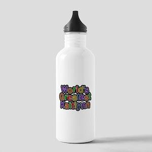Worlds Greatest Kaitlynn Water Bottle