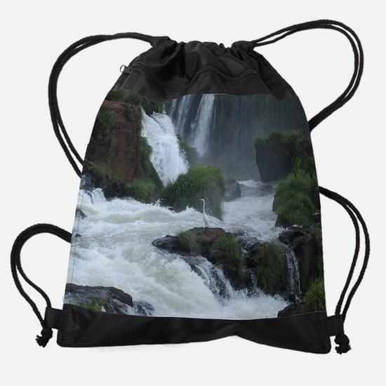 birdiguazu_cal.jpg Drawstring Bag