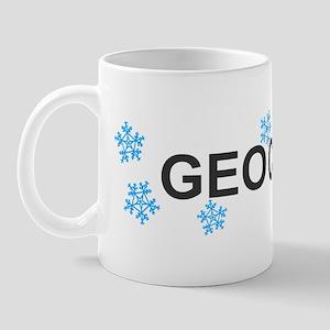 Snow Geocacher Mug