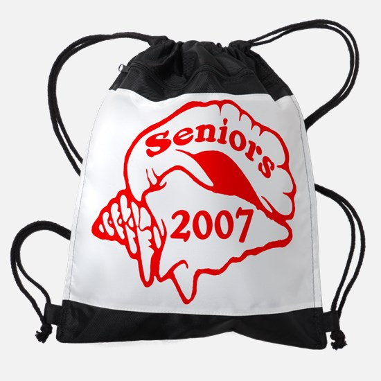 3-seniorsconchshellRW.png Drawstring Bag
