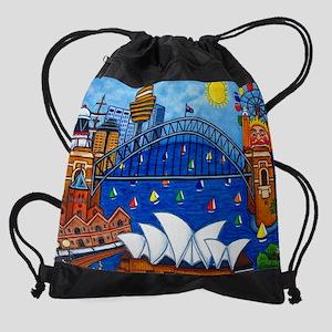 Sensational Sydney Drawstring Bag