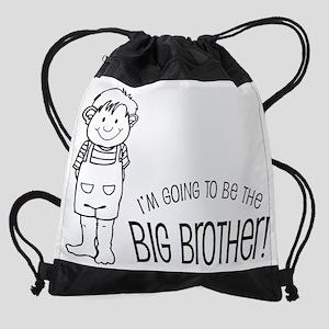 big bro bag Drawstring Bag