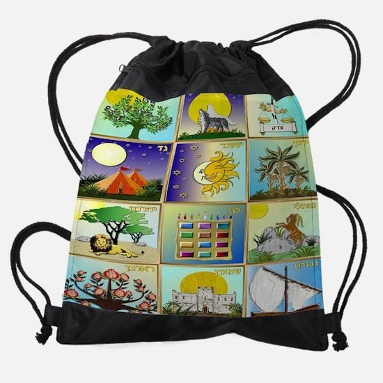 12 Tribes Of Israel Drawstring Bag