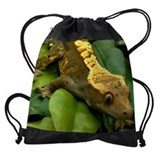 Lizard Drawstring Bag