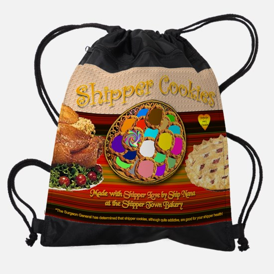 novembercookies calender.png Drawstring Bag