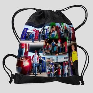 oc fair collage Drawstring Bag