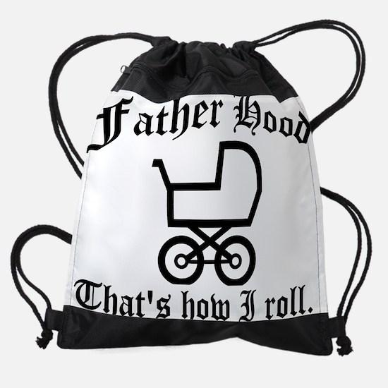 fatherhood.png Drawstring Bag