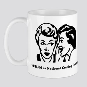 10/11/06 is National Coming O Mug