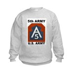 5TH ARMY Kids Sweatshirt